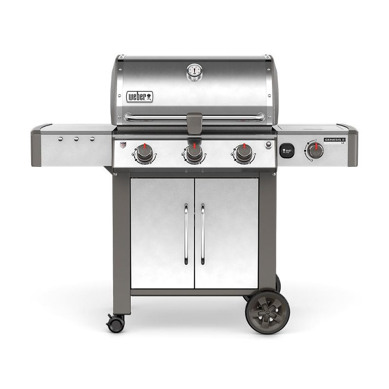 Weber Genesis II LX S-340 Natural Gas Grill Stainless Steel