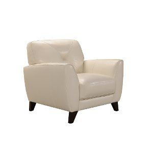 ... Modern White Leather Chair   Colours