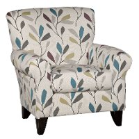 Cream Casual Contemporary Accent Chair - Dayton