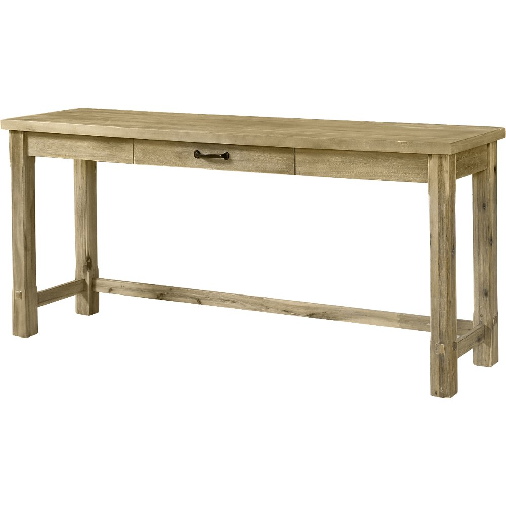 Buy a sofa console table at rc willey for your den rustic wood sofa table napa geotapseo Images