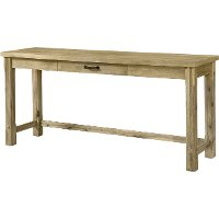 Rustic wood sofa table napa rc willey furniture store for Sofa table rc willey