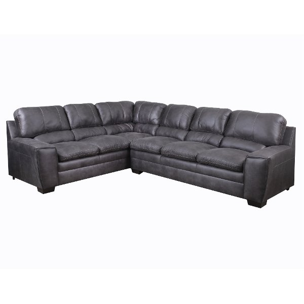 ... Granite Causal Contemporary 2 Piece Sectional Sofa   Caruso