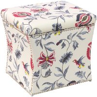 49-6NB-PWJCBBRGMLTOGA Bright Multi Nail Button Storage Ottoman