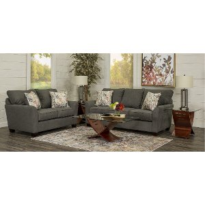 ... Casual Contemporary Charcoal Gray 7 Piece Room Group   Tara ... Part 57