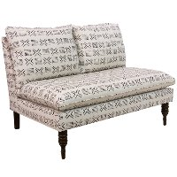 5106RMCRMOGA Remmy Cream Armless Loveseat