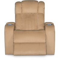 Veritas Saddle Tan Power Recliner - Transformer