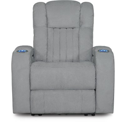 Veritas Gray Power Recliner - Transformer  sc 1 st  RC Willey & Veritas Gray Power Recliner - Transformer | RC Willey Furniture Store islam-shia.org