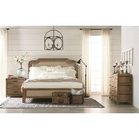Magnolia Home Furniture 5-Piece Queen Bedroom Set - Architectural