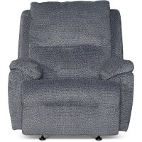 Angus Cobblestone Gray Power Recliner - Connolly