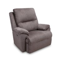 Angus Taupe Chateau Power Recliner - Connolly