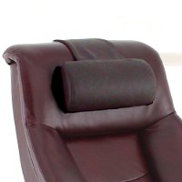 Merlot Burgundy Top Grain Leather Cervical Pillow - Oslo