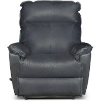 Sophia Admiral Blue Leather-Match Manual Rocker Recliner - Jay