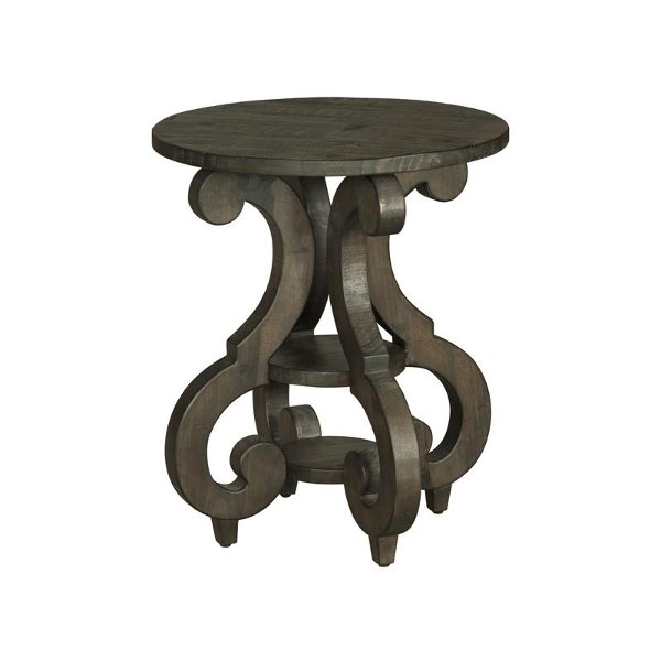 Shop End Tables RC Willey Furniture Store - Round end table with doors