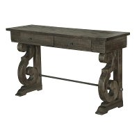 Weathered Pine Sofa Table - Bellamy