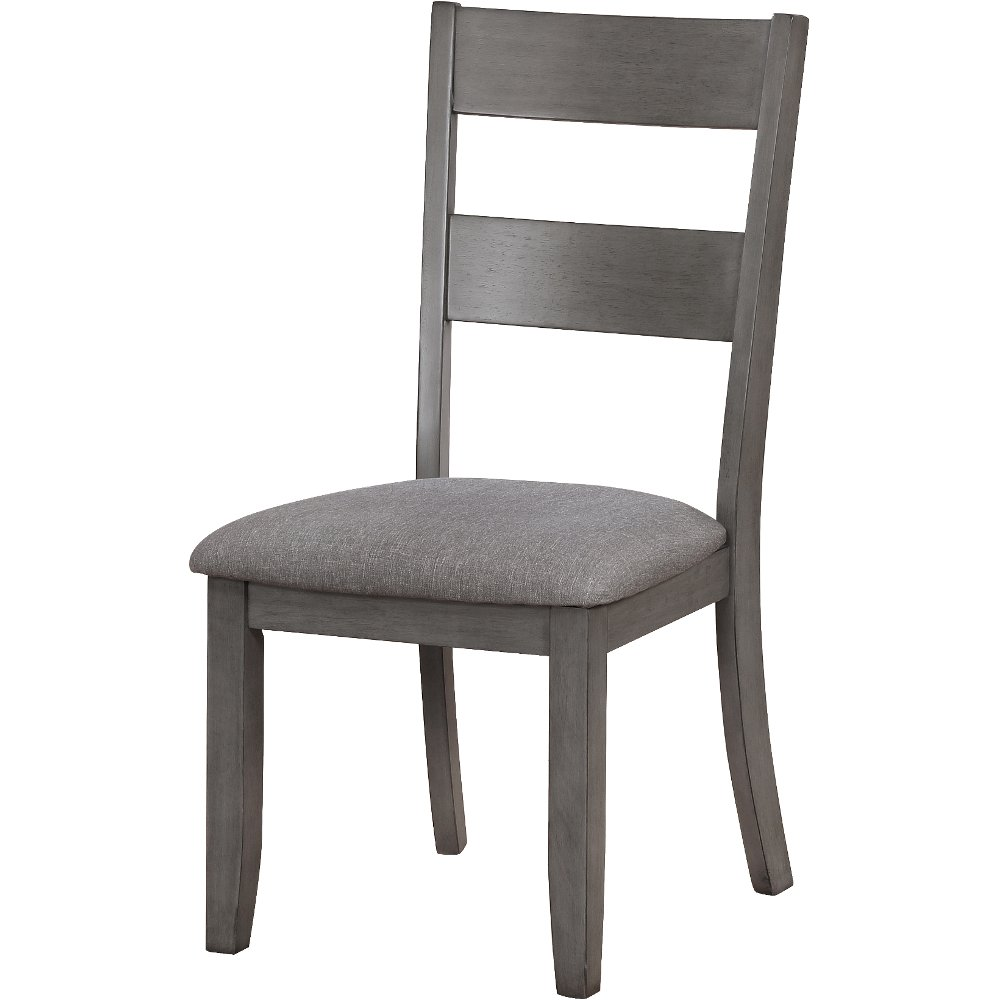 Clearance Gray Upholstered Dining Chair   Warwick ...