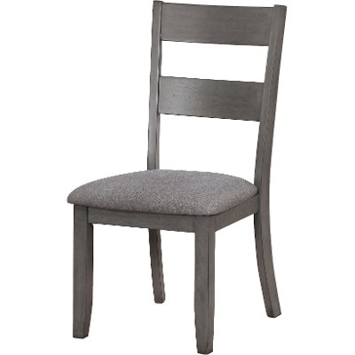 Gray Upholstered Dining Chair Warwick