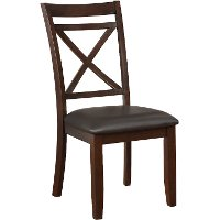 Clearance Dark Cherry Traditional Dining Chair - Westerly