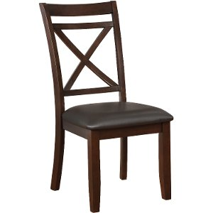 Dark Cherry Traditional Dining Chair