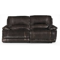 Brown 2 Piece Manual Reclining Loveseat - Brant
