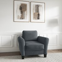 Classic Contemporary Dark Gray Chair - Westley