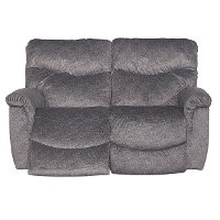 48P-521D143356 Graphite Gray Recline La-Z-Time® Full Power Reclining Loveseat - James