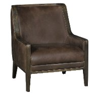 Modern Brown Accent Chair - Chatham