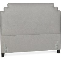 Sterling Gray Queen Upholstered Headboard - Stella