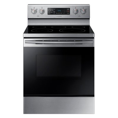 NE59M4320SS Samsung Electric Range with Dual Power Elements - 5.9 cu. ft. Stainless Steel