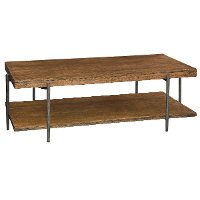 Medium Brown Mango Wood Coffee Table - Bedford
