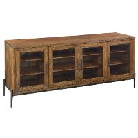 74 Inch Medium Brown TV Stand - Bedford
