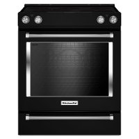 KSEG700EBS KitchenAid 6.4 cu. ft. Electric Slide-in Range - Black Stainless Steel