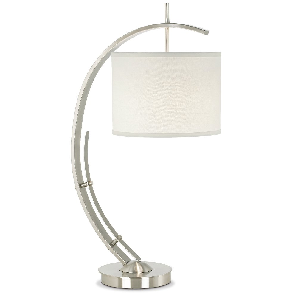 upc lamp bel air for lighting in table brushed nickel product lamps image