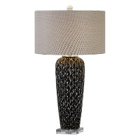 Mocha Bronze Ceramic Table Lamp