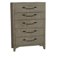 Rustic Contemporary Gray Chest of Drawers - Bohemian