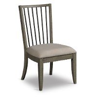 Gray Contemporary Dining Chair - Bohemian