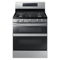 NX58M6850SS Samsung Double Oven Gas Range  -  5.8 cu. ft. Stainless Steel