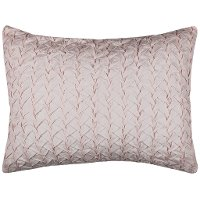 Petal Pink King Size Sham - Carly Bedding Collection