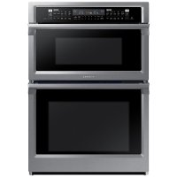 NQ70M6650DS Samsung 30 Inch Smart Convection Combination Wall Oven with Microwave - 7.0 cu. ft. Stainless Steel