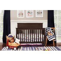 Espresso Classic 4-in-1 Convertible Crib - Autumn