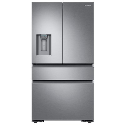french door refrigerator reviews counter depth fridge sale brisbane stainless steel cu ft recessed handle safety lock