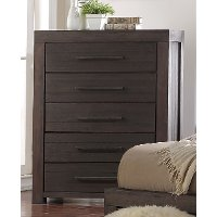 Casual Classic Basalt Gray Chest of Drawers - Heath