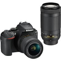 1580 Nikon D5600 DSLR Camera with18-55mm and 70-300mm Lenses