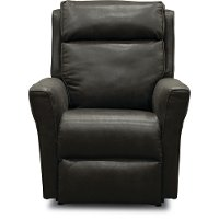 Slate Gray Manual Rocker Recliner - Radiate