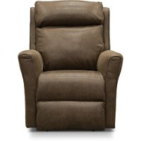 Taupe Manual Rocker Recliner - Radiate