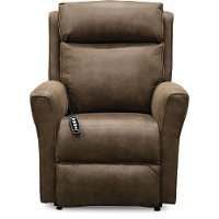 Taupe Power Lift Recliner - Radiate