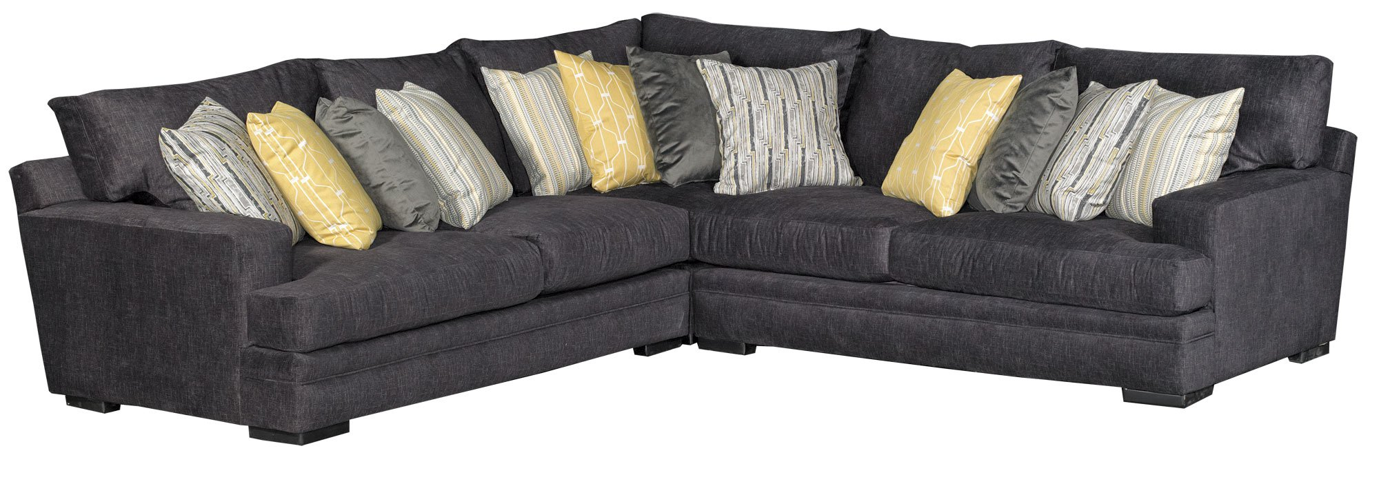 Charcoal Gray Casual Contemporary 3 Piece Sectional  sc 1 st  RC Willey : rc willey sectional - Sectionals, Sofas & Couches