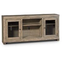 68 Inch Distressed Gray Brown TV Stand - Willow
