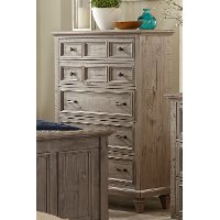 Casual Rustic Gray Chest of Drawers - Dovetail