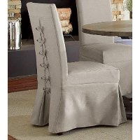 Dove Gray Parsons Dining Chair - Muses