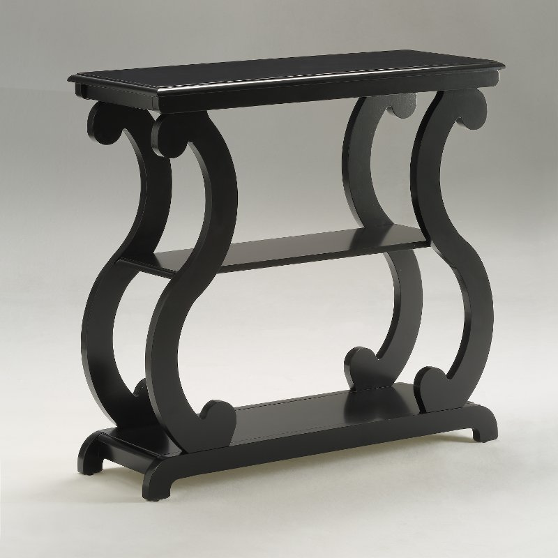 Modern Contemporary Black End Table - Lucy